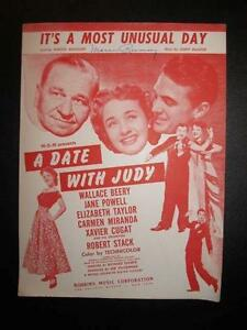 a most unusual day Lyrics to it's a most unusual day by jane powell from the golden age of hollywood album - including song video, artist biography, translations and more.
