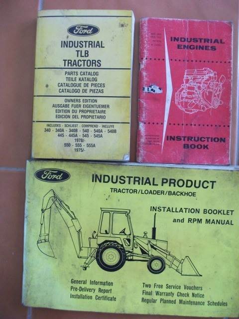 Ford Backhoe & Engine Manuals | Textbooks | Gumtree ... on