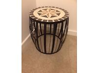 Moroccan Theme Coffee Side Table - Excellent condition and Beautiful!