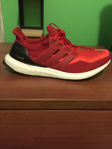 Ultra Boost Red Gradient Size 9 DS