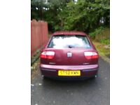 FOR SPARE OR REPAIR. SEAT LEON 1.6 113000 MILES MOT UP OCTOBER 1ST