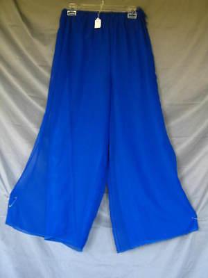 Harem Pants Princess Concubine Dancer Royal Blue - Royal Dancer Kostüm
