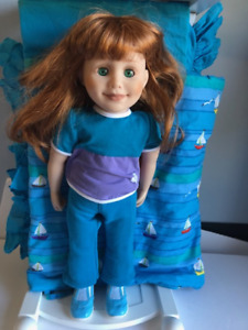 Maplelea Doll - Jenna with bed