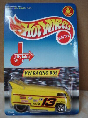 HOT WHEELS,  JIFFY LUBE PROMO  VW DRAG BUS  1/64  SPEICAL EDITION  NEW