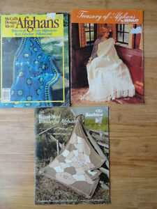 Afghan Pattern Books. Cambridge Kitchener Area image 2
