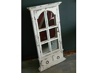 Shabby chic Mirror with opening door - Lovely!!