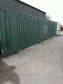40ft x 8 ft Shipping Containers x 2