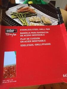 Weber BBQ grill pan Maryville Newcastle Area Preview