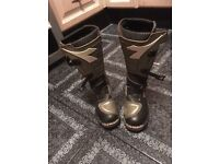 Diadora Motor Cross Boots Size 3, VGC. £20