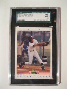 GRADED 1992 CLASSIC BEST DEREK JETER