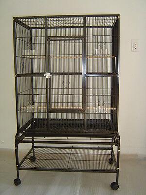 """Everila New Bird Parrot Cage Bar Spacing 3/8"""" Cockatiel Conure Finch Parrotlet"""