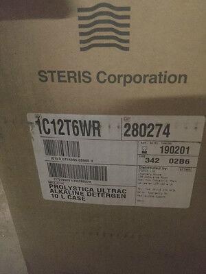Steris 1c12t6wr Instrument Alkaline Detergent Prolystica Exp 0219 New