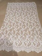 BRAND NEW BRIDAL BEADED FRENCH LACE AND SILK FABRICS FOR SALE Doncaster East Manningham Area Preview