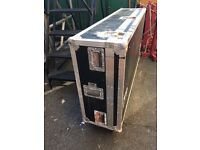GIANT Wheeled MIXING DESK FLIGHTCASE –or for synths, backline, cabs, you name it..