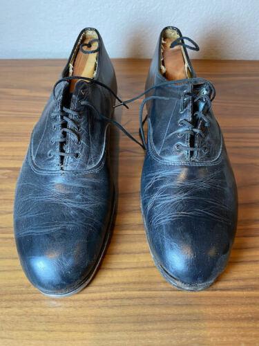 Vintage Capezio Tele Tone Trade Mark Tap Shoes 10.5 Mens Estate Find Oxford
