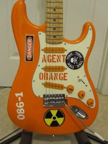 """Fender Stratocaster """"AGENT ORANGE"""" Top of the Line Designer Stratocaster"""