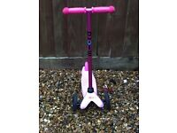 Childrens Pink Micro scooter