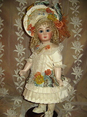 """18""""  FRENCH DOLL DRESS PATTERN ANTIQUE STYLE~ CHARLOTTE"""