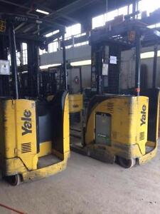 2012 Yale - Lease Returns -  NR035 single Reach, 3500lb Capacity. MM386/387/388/389.