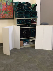 3 Ring Binders and Corrugated Fold Out Presentation Boards