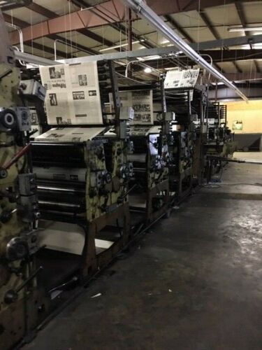 Web Leader printing press
