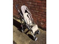 Folding Baby Buggy by O Baby with Rain Cover