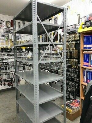Penco Industrial Warehouse Steel Shelving