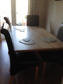 Marble Dining Table. Excellent condition.