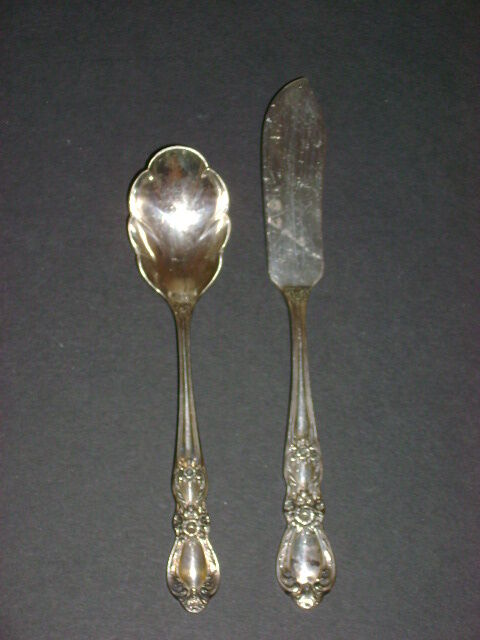 INTERNATIONAL SILVER PLATE HERITAGE SERVING PIECES 2