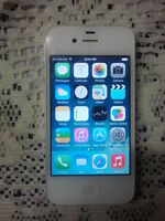 White iPhone 4. 16GB. $100