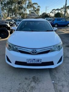 2012 Toyota Camry AHV40R Hybrid White Continuous Variable Sedan Werribee Wyndham Area Preview