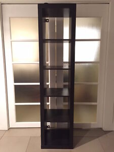 Black-Brown Expedit Shelving Unit (5x1)
