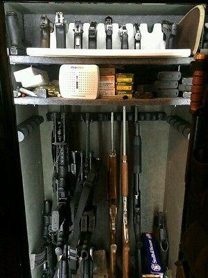 GUN SAFE LIGHT FULL LENGTH LED, 110 POWER, MOTION SENSOR, 500+ LEDs, A+