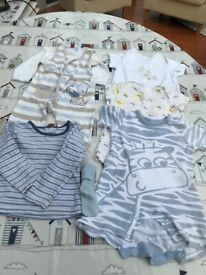 collection of clothes 3-6mths