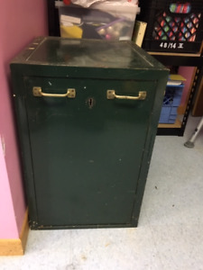 Vintage Security Chest
