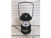 Space-saving Coleman camping lantern