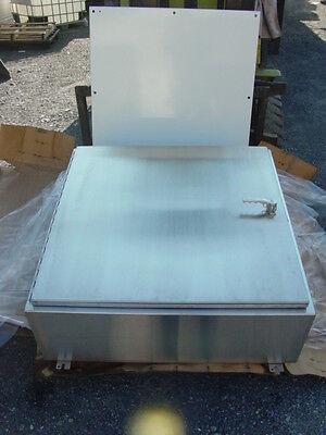 Hoffman A36h3012sslp3pt 304 Stainless Steel Wall-mount Enclosure - New Surplus