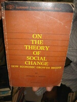 INDIA - ON THE THEORY OF SOCIAL CHANGE BY EVERETT E. HAGEN PAGES 158