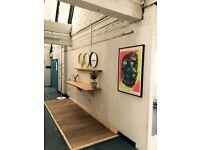 Fantastic Office Space, flexible terms, £800 All inclusive 160sqft London Fields E8 3SB