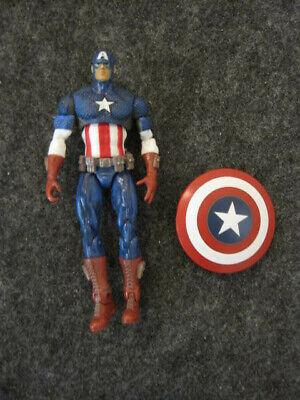 "Marvel Legends Universe 3.75"" loose Captain America action figure Hasbro"