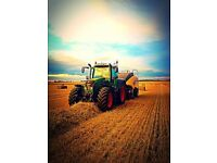 Experience tractor driver required for baling
