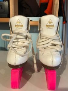 Jackson Artiste size 11C figure skates.
