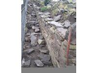 Drystane dyker/drystone waller