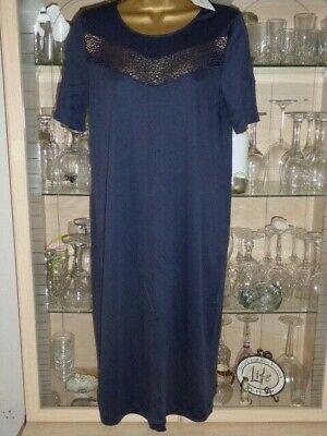 HANRO Switzerland Liv Short Sleeve NIght Gown 76441 Nightdress BNWT rrp £86.50