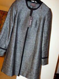 Parisienne Coat pure linen MARKS & SPENCER portfolio brand