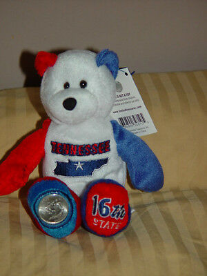 TENNESSEE 50 STATES OF AMERICA COIN BEARS, LIMITED TREASURES