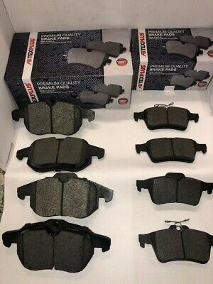 Front and Rear Brake Pads Fits Vauxhall Vectra C 2002-2009