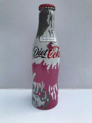 Diet Coke / JW Anderson collaboration LE aluminium pink & grey bottle