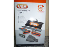 'Reduced' Vax Cleaning Kit Pro Attachment for Vax Vacuum Cleaner, As New
