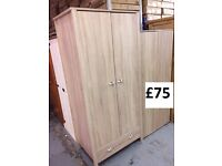 oak colour wardrobe new